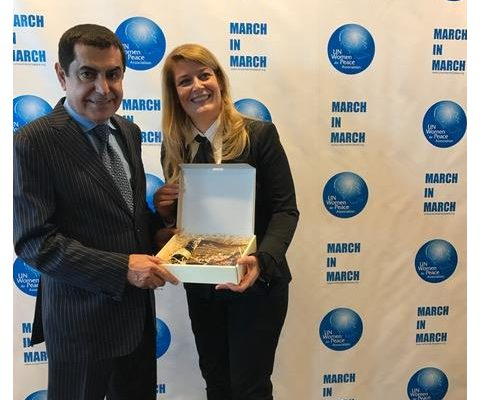 New York, 10-11 marzo 2017 – Annual Awards Luncheon dell'United Nations Women for Peace